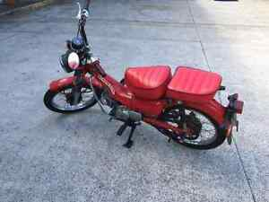 Honda CT 110 postie Brookvale Manly Area Preview
