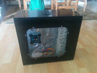 Computer case with extra fans, card reader, usb 3.0