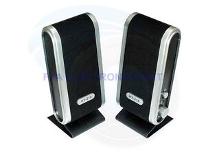 Computer Portable Stereo Multimedia Speakers for PC Laptop