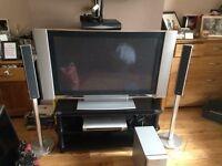 Sony Wega 42inch TV with Home Cinema System.