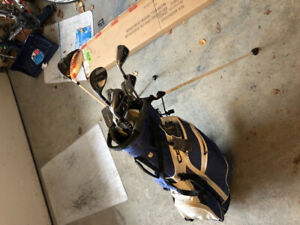 Golf clubs complete set and bag!!! Left Hand. High end set!!!