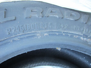 2 @ SX 9000 HR RADIAL TIRES ( $ Negotiable) West Island Greater Montréal image 5
