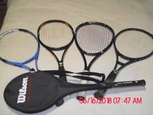 Badminton and Tennis Rackets
