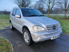 Mercedes 4x4, auto, 1year mot, tidy,big boot £1995 ono