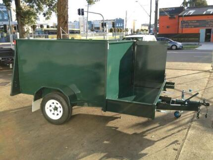 NEW CONTRACTORS MOWING TRAILER READY FOR WORK $$$