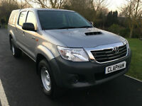 2015 15 TOYOTA HILUX 2.5D-4WD EURO 5 TRUCKMAN TOP 1 COMPANY OWNER 50000 MILES