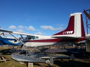 1967 Cessna 185 on EDO 2960 floats