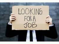 A job wanted