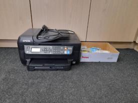 Epson workforce WF 2750 printer and scanner +job lot ink