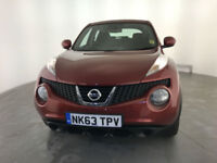 2013 63 NISSAN JUKE VISIA 5 DOOR HATCHBACK SERVICE HISTORY FINANCE PX WELCOME