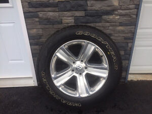 """2016 Ram sport 20"""" tires and rims"""