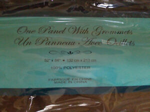 Brand new with tags brown window covering curtain London Ontario image 5