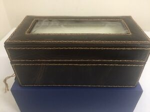 Fossil Leather Watch Box West Island Greater Montréal image 4