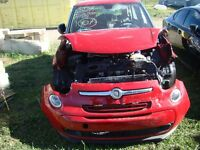 2014 Fiat 500L 1.4L I4 16V MPFI SOHC Turbo (for parts)