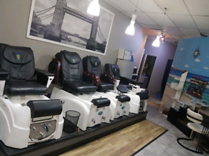 MUST SELL - all the equipment for tanning and nail salon spa