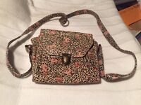 Ladies bag leopard print