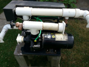 hot tub motors and pumps