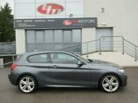 2013 BMW 1 Series 2.0 116D M SPORT 3d 114 BHP Hatchback Diesel Manual