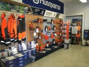 Husqvarna Chainsaw Safety Gear