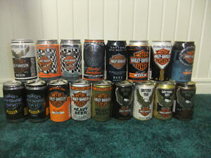 Harley Davidson Beer Can Collection