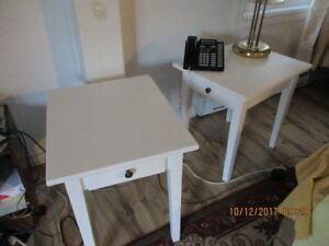 Coffee table and 2 side-tables