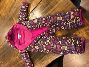 Snowsuit girls 18-24 months
