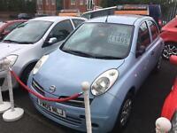 Nissan Micra 1.2 16v S Blue Petrol MOT Rac Check Low Insurance