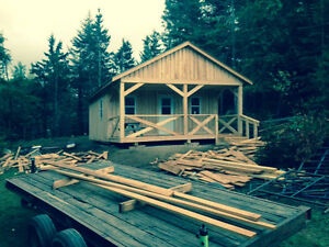 Apple Ridge Lumber - Storage Sheds, Camps, Patios, and more!