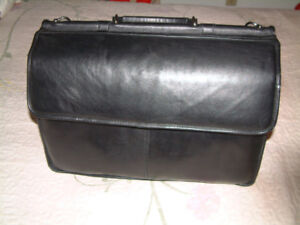 All Leather Laptop Bag