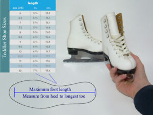 Toddler Figure Skates - Sizes  8 (CCM), and 8.5 (Bauer)