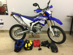 2016 Yamaha WR250R with lots of extras!