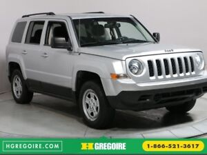 2012 Jeep Patriot Sport 4X4 A/C GR ELECT