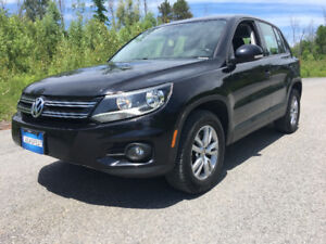 2013 Volkswagen Tiguan 2.0 TSI 4 Motion AWD Safety Only $13800