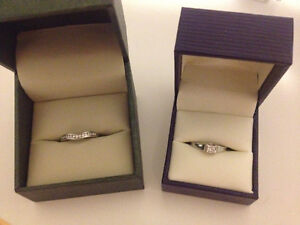 Engagement Ring and Wedding Band (set or separate)