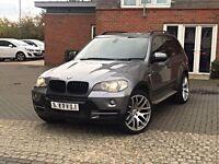 2008 BMW X5 FACELIFT 3.0D DYNAMIC SPORT PACK SE HPI CLEAR FSH