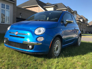 GREAT CONDITION 2015 FIAT 500C CONVERTIBLE