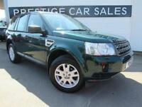 2011 Land Rover Freelander 2.2 TD4 XS 4X4 5dr Diesel green Automatic