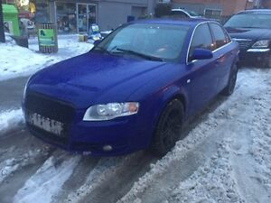 2006 AUDI A4 2.0T Quattro with winter tires