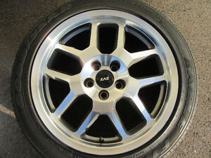 SHELBY SVT COBRA RIMS AND TIRES FOR SALE