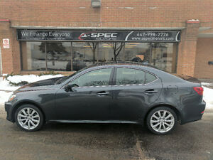2008 Lexus IS250 AWD, Serviced at Toyota, One Owner
