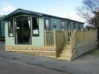 Swift Bordeaux 35ft by 12ft 2 bedroom 2017 Causey Hill Holiday Park Hexham