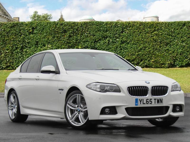 2016 bmw 5 series 520d m sport 4dr step auto automatic saloon in bradford west yorkshire. Black Bedroom Furniture Sets. Home Design Ideas
