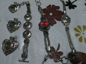 ALL KIND OF SNAP JEWELRY ALL NEW