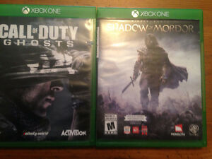 XBOX ONE games for sale--$12 or lower