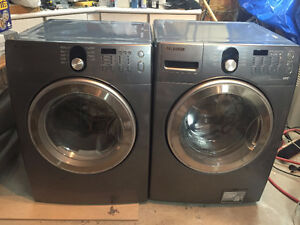 FANTASTIC Samsung Front load Washer ElectricDryer 9-10 Condition