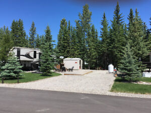 RV lot for sale Coyote Creek, Sundre Ab