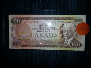 LOOKING TO PURCHASE OLD PAPER MONEY FROM B4 1989................ London Ontario image 3