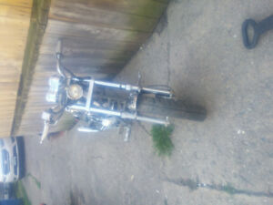 mini chopper 49cc lots of fun ..750 obo