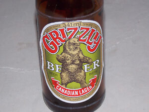 Grizzly Beer Bottle Stratford Kitchener Area image 2