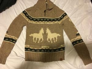 TNA wool knit sweater